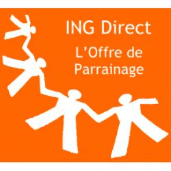 Logo ING Direct l offre de parrainage